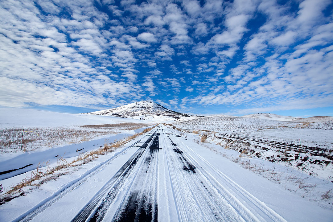 Road to Steptoe Butte